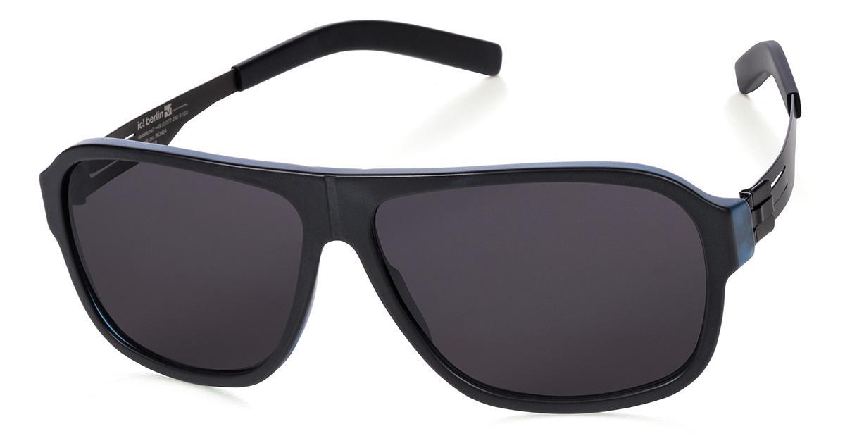 Купить Солнцезащитные очки Ic Berlin IB Power Law Midnight BlueMatt BlackMatt Black Acetat