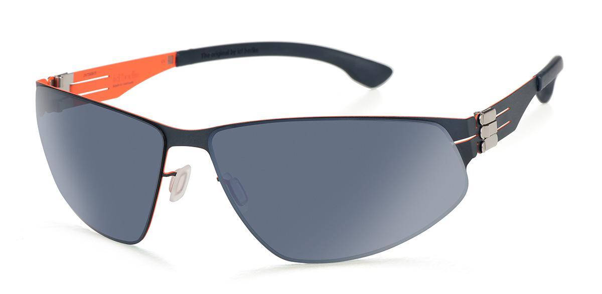 Купить Солнцезащитные очки Ic Berlin IB Reese Blue Flame Marine Blue Moonlight-Mirrored-Polarized Donnerstag