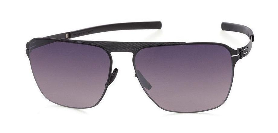Купить Солнцезащитные очки Ic Berlin IB Sebastian S Black Black to Grey Polarized Flex