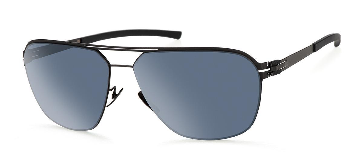 Купить Солнцезащитные очки Ic Berlin IB T113 TT-Black Moonlight-Mirrored-Polarized Flex