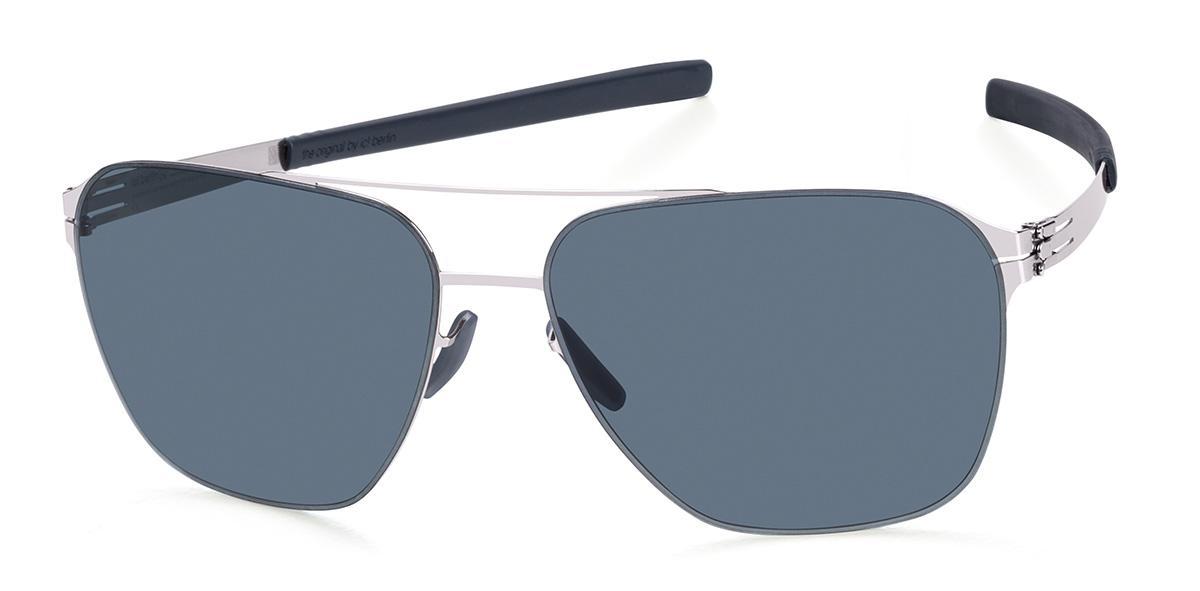 Купить Солнцезащитные очки Ic Berlin IB Jonathan I.Chrome Marine Blue Grey Flex