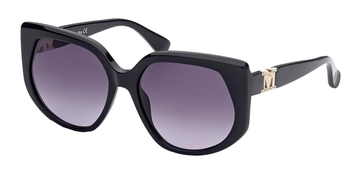 Купить Солнцезащитные очки Max Mara MM 0013 01B