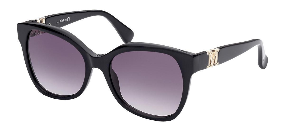 Солнцезащитные очки Max Mara MM 0014 01B  - купить со скидкой