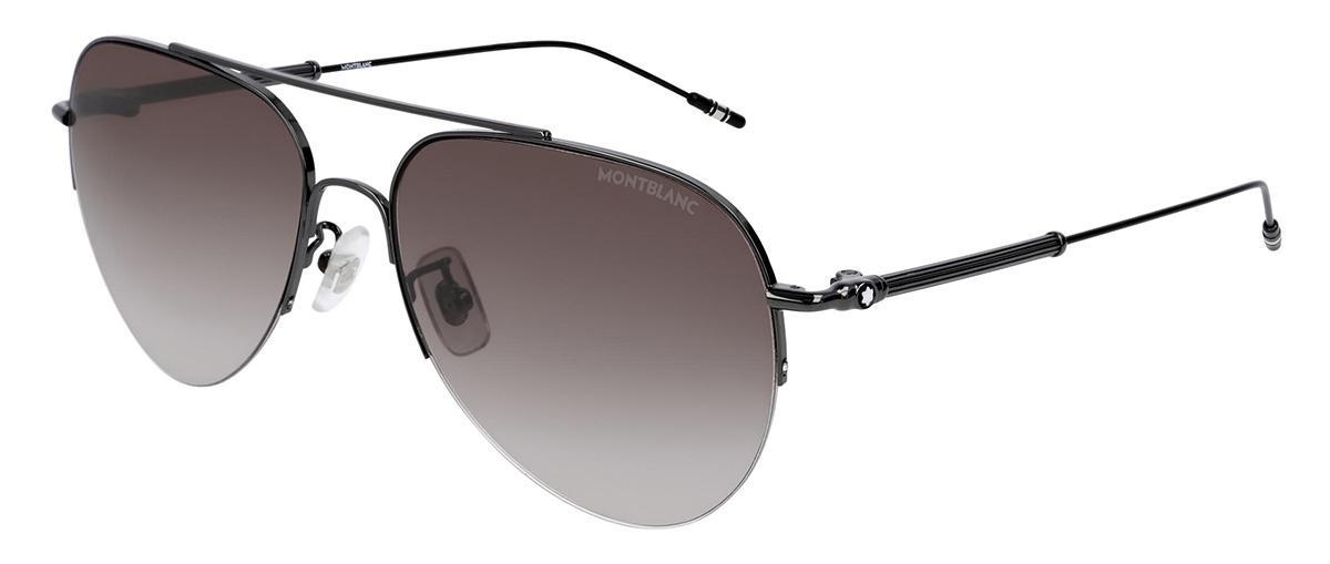 Солнцезащитные очки Mont Blanc MB 0037S 004  - купить со скидкой