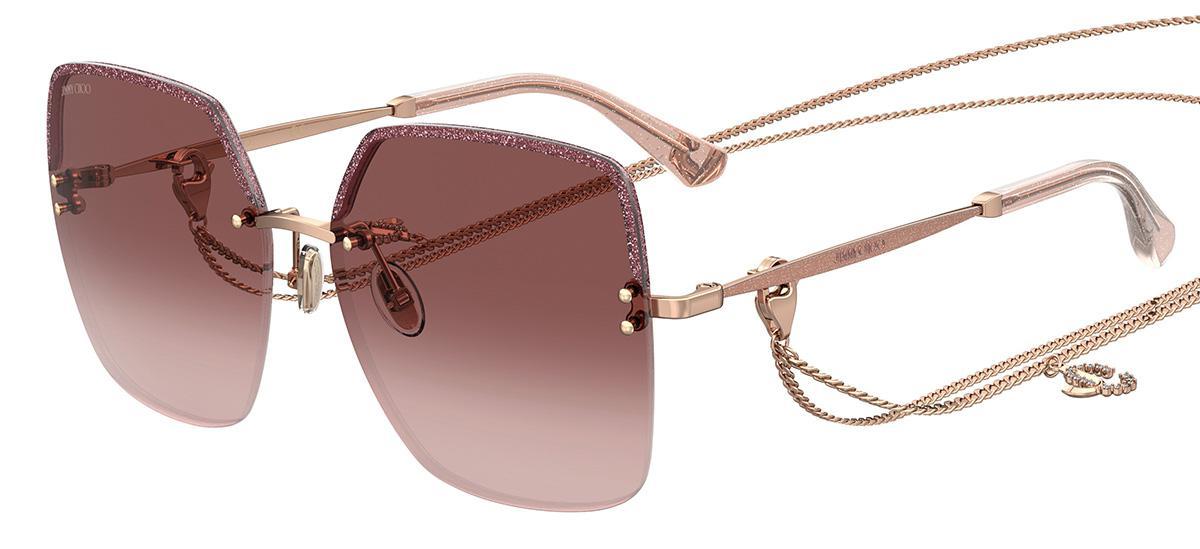 Купить Солнцезащитные очки Jimmy Choo TAVI/N/S DDB 3X