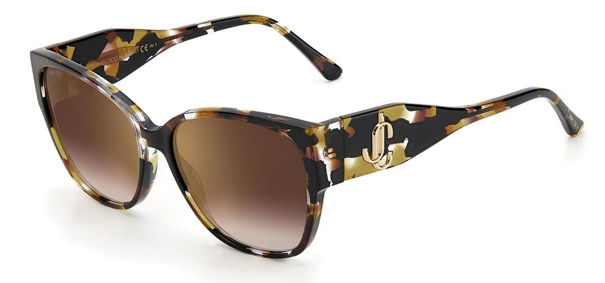 Солнцезащитные очки Jimmy Choo SHAY/S EPZ JL  - купить со скидкой