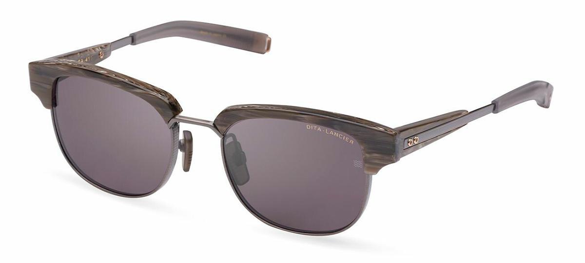 Купить Солнцезащитные очки Dita LSA-411 DLS 411-A-02 Antique Silver-Beach Wood w/Grey Polar
