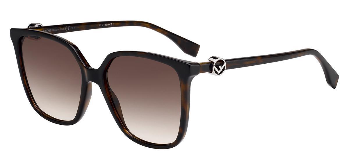 Купить Солнцезащитные очки Fendi FF 0318/S 086 HA