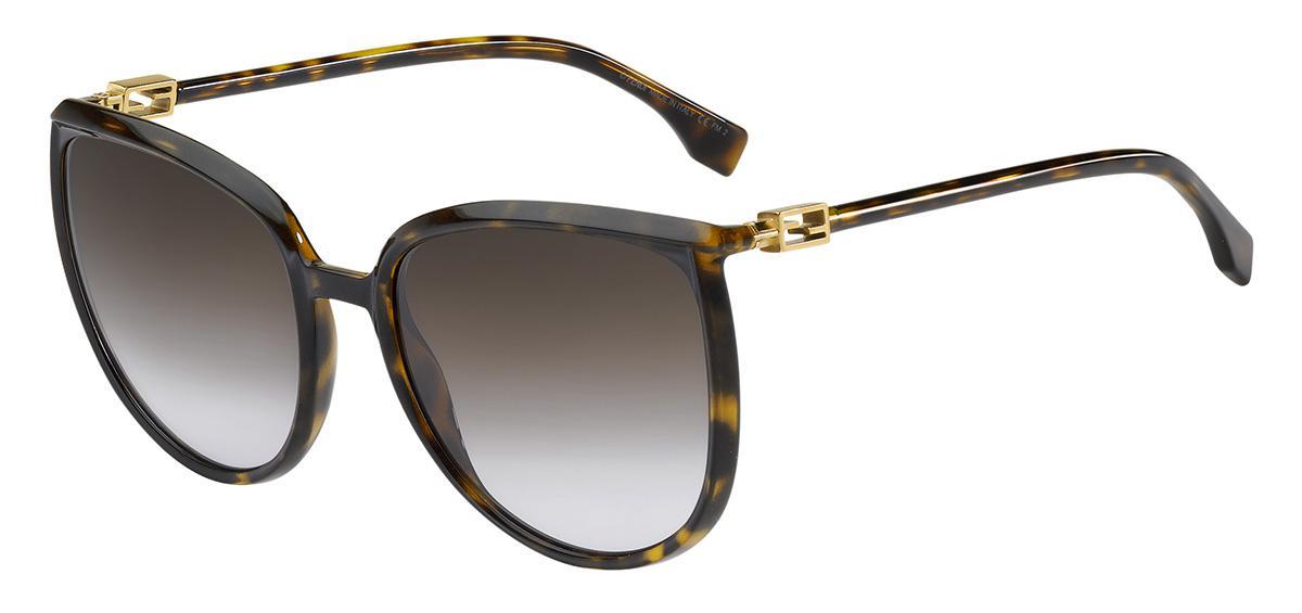 Купить Солнцезащитные очки Fendi FF 0432/G/S 086 QR