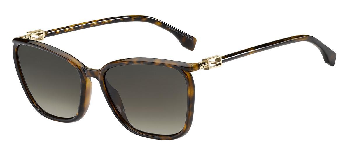 Солнцезащитные очки Fendi FF 0460/G/S 086 HA  - купить со скидкой