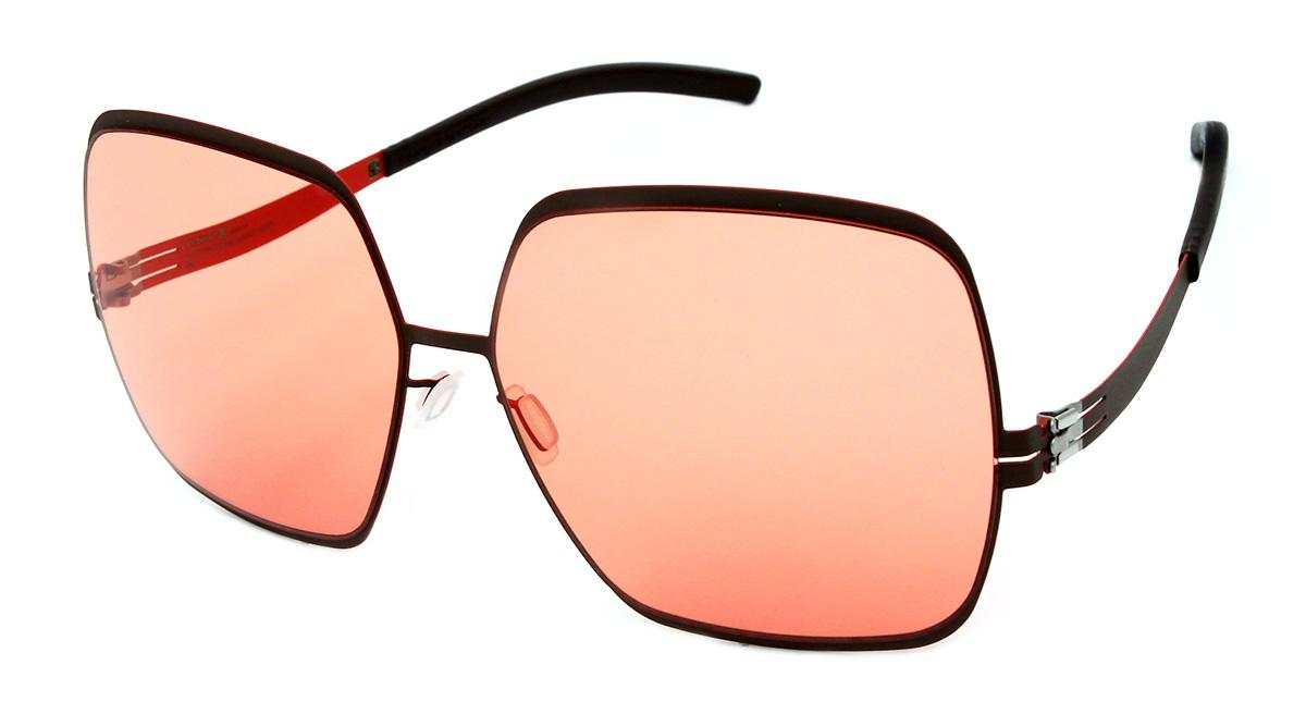 Купить Солнцезащитные очки Ic Berlin IB Angelina T Cocoloco Nougat Bernstein Low Rider Flex
