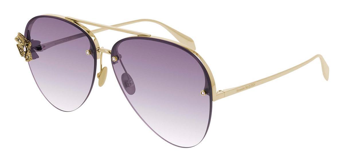 Купить Солнцезащитные очки Alexander McQueen AM 0272S 003