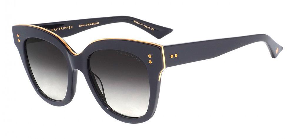 Купить Солнцезащитные очки Dita Day Tripper 22031-A-BLK-GLD