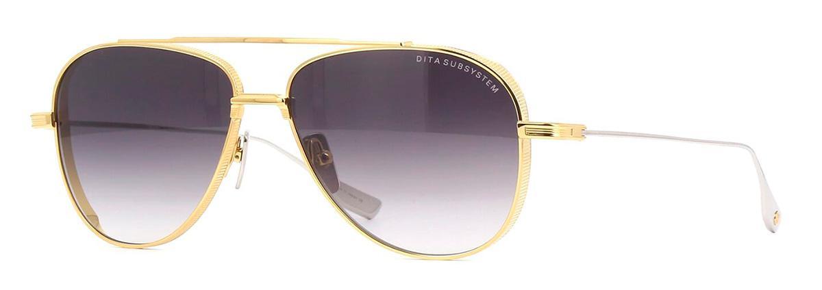 Купить Солнцезащитные очки Dita Subsystem DTS 141-A-01 Yellow Gold-Silver w/Dark Grey to Clear Gradient