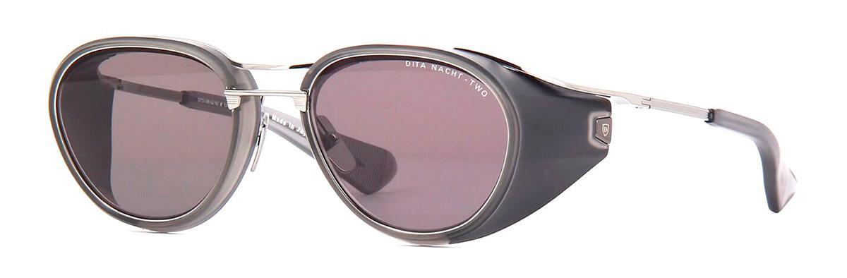 Купить Солнцезащитные очки Dita Nacht Two DTS 128-52-02 Matte Crystal Grey-Black Palladium w/High Contrast Dark Grey-AR