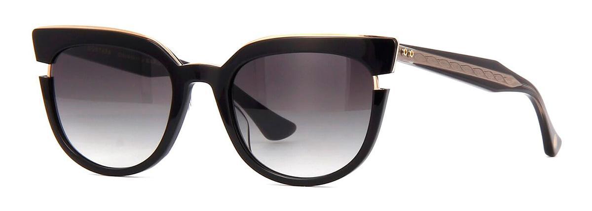 Купить Солнцезащитные очки Dita Monthra DTS 518-50-01 Black-Rose Gold w/Dark Grey to Clear-AR