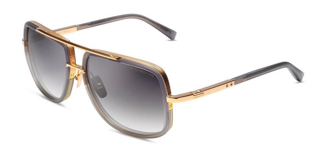 Солнцезащитные очки Dita Mach One DRX 2030-T-GRY-GLD-59 Satin Crystal Grey-Yellow Gold w/Dark Grey to Clear  - купить со скидкой