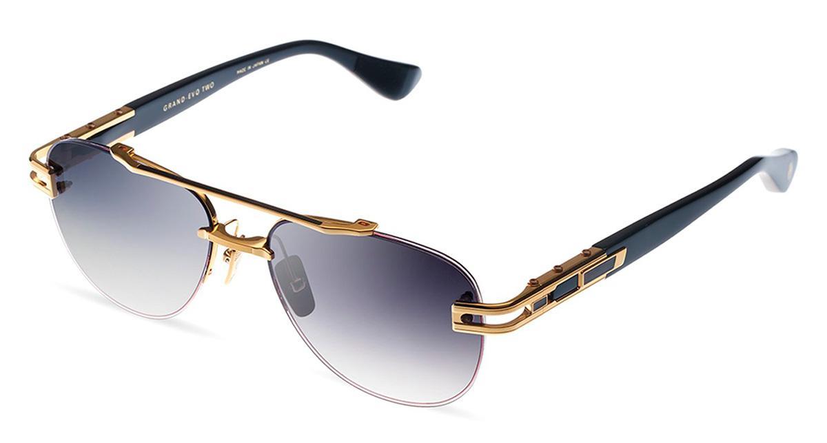 Купить Солнцезащитные очки Dita Grand-Evo Two DTS 139-A-01 Yellow Gold-Black w/Dark Grey to Clear