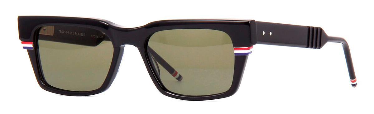 Купить Солнцезащитные очки Thom Browne TBS 714-A-01 Black-White Gold w/G-15