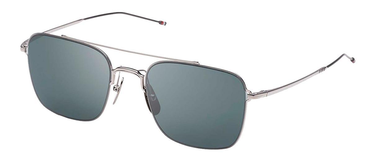 Купить Солнцезащитные очки Thom Browne TBS 120-A-01 Silver-Black Iron w/Grey
