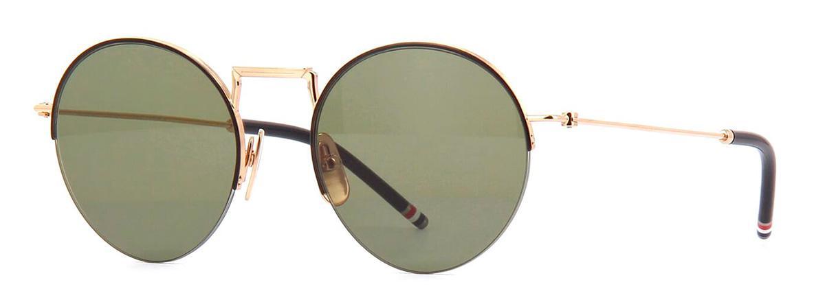 Купить Солнцезащитные очки Thom Browne TBS 118-A-02 White Gold-Black w/G-15