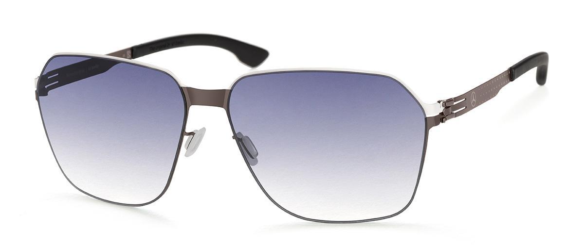 Купить Солнцезащитные очки Ic Berlin IB MB 04 White Pop-Graphite Black Black-Clear Donnerstag