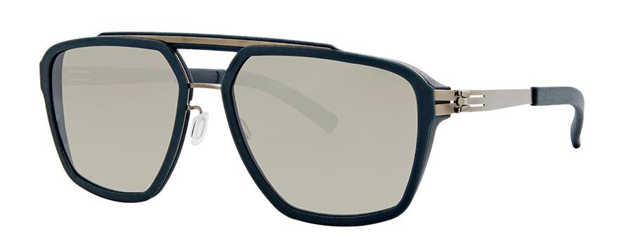 Солнцезащитные очки Ic Berlin IB Dystopia Bronze-Brutal-Blue Brown-Sand Mirrored Plotic-Vario