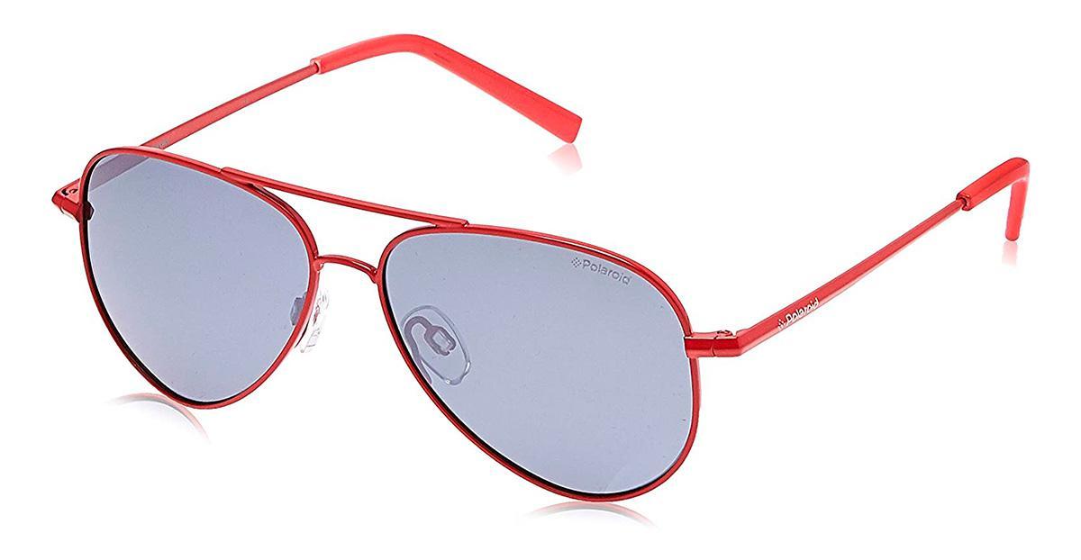 Солнцезащитные очки Polaroid Kids PLD 8015/N 39Y JB  - купить со скидкой