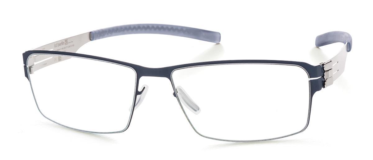 Купить Оправа Ic Berlin IB Jurgen H Marine Blue Pearl Grey RX-Clear Flex, Оправы для очков