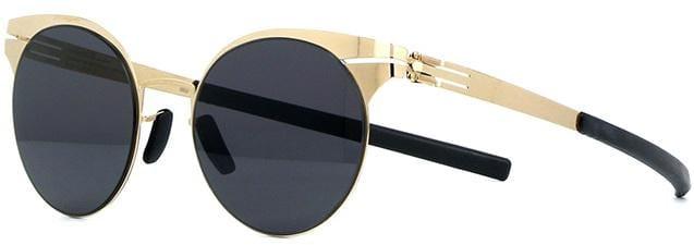 Купить Солнцезащитные очки Ic Berlin IB Caria L Rose-Gold Black
