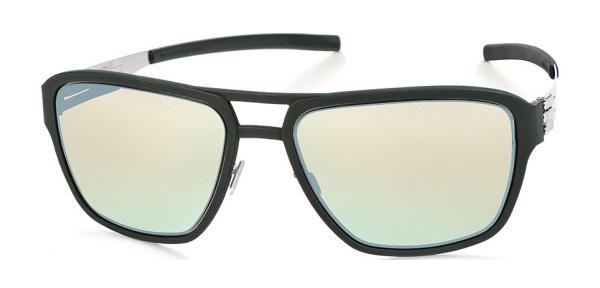 Купить Солнцезащитные очки Ic Berlin IB Wipeout Chrome Dark Green Silver Mirrored
