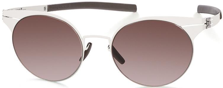 Купить со скидкой Солнцезащитные очки Ic Berlin IB Carla L Off-White Warm Grey
