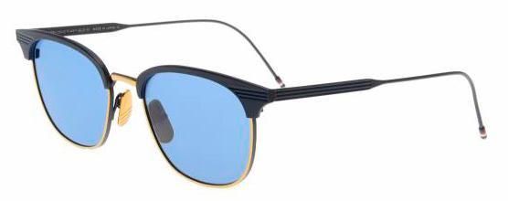 Купить Солнцезащитные очки Thom Browne TB 104-C-T-NVY-GLD