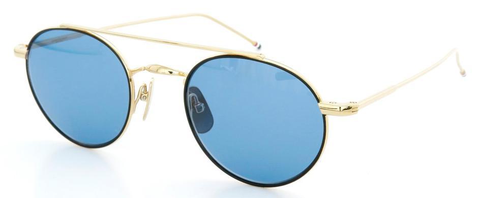 Купить Солнцезащитные очки Thom Browne TB 101-D-T-BLK-GLD