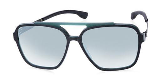 Солнцезащитные очки Ic Berlin IB Henrik B L Emerald-City-Rough Black Black-Matt  - купить со скидкой