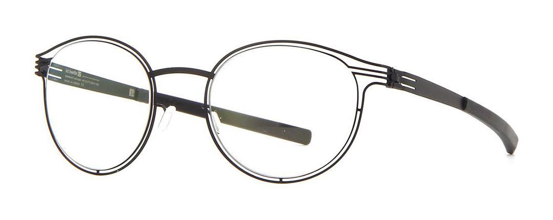 Купить Оправа Ic Berlin IB Purity Black RX-Clear Flex, Оправы для очков