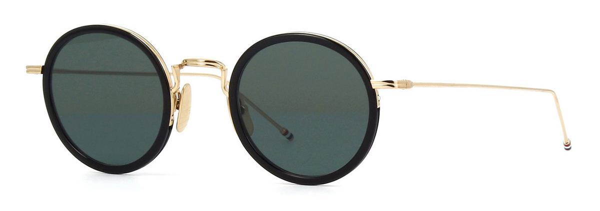 Купить Солнцезащитные очки Thom Browne TBS 906-46-01 BLK-GLD